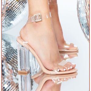 Fashion Nova Glass Slipper